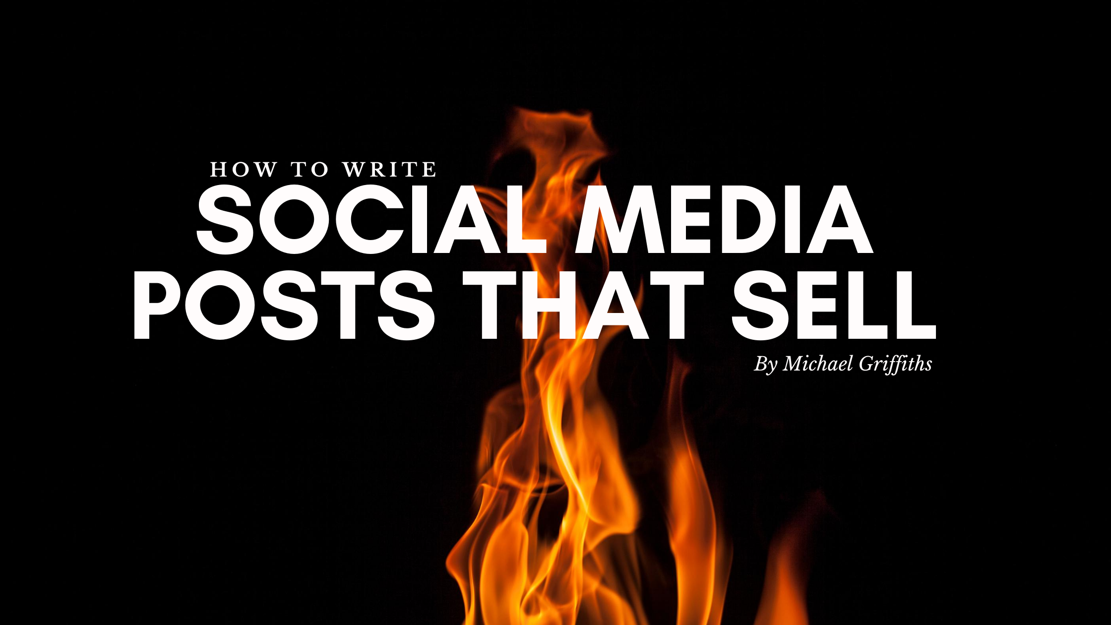 Mike the Biz Guy - Writing social media posts that sell